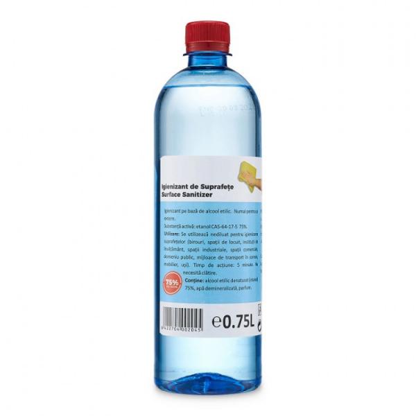 Igienizant pentru suprafete pe baza de Alcool Etilic, 75, 750 ml [0]