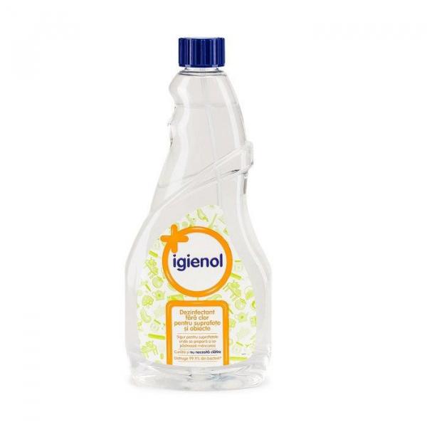 Igienol Dezinfectant suprafete, Rezerva, 750 ml, Clear Multi-Action [0]