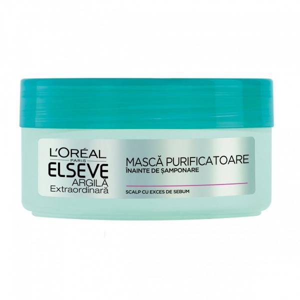 L Oreal Elseve Masca de par pre-samponare, 150 ml, Argila Extraordinara [1]