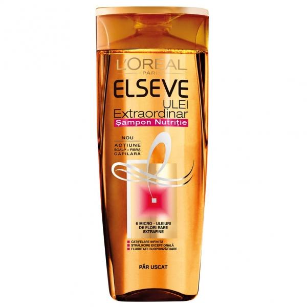 L Oreal Elseve Sampon, 400 ml, Ulei Extraordinar pentru par uscat [0]