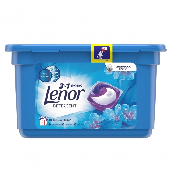 Lenor Detergent Capsule All in 1 PODS, 11 buc, Spring Awakening [0]