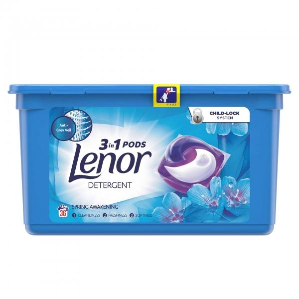 Lenor Detergent Capsule All in 1 PODS, 36 buc, Spring Awakening [0]