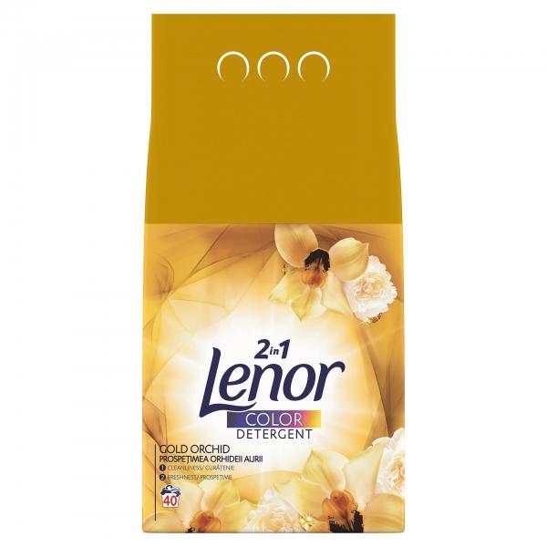 Lenor Detergent automat, 4 kg, 40 spalari, Color Gold Orchid [0]