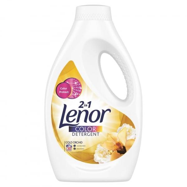 Lenor Detergent lichid, 1.1 L, 20 spalari, Color Gold Orchid [0]