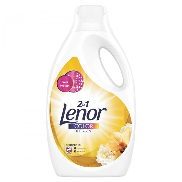 Lenor Detergent lichid, 2.2 L, 40 spalari, Color Gold Orchid [0]