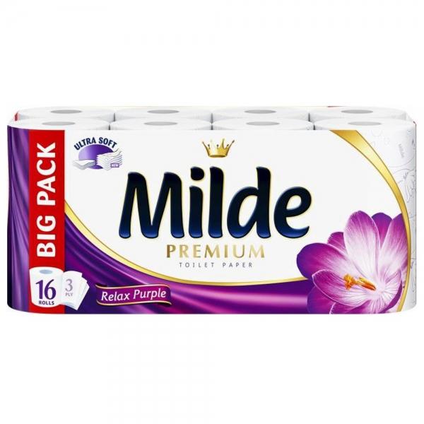 Milde Relax Purple Hartie igienica, 3 straturi, 16 role [0]
