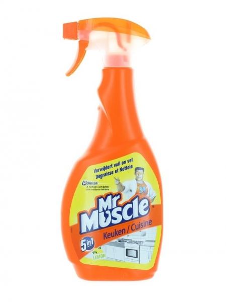 Mr. Muscle Solutie curatat suprafete bucatarie, cu pompa, 500 ml, 5in1 Kitchen Care [0]