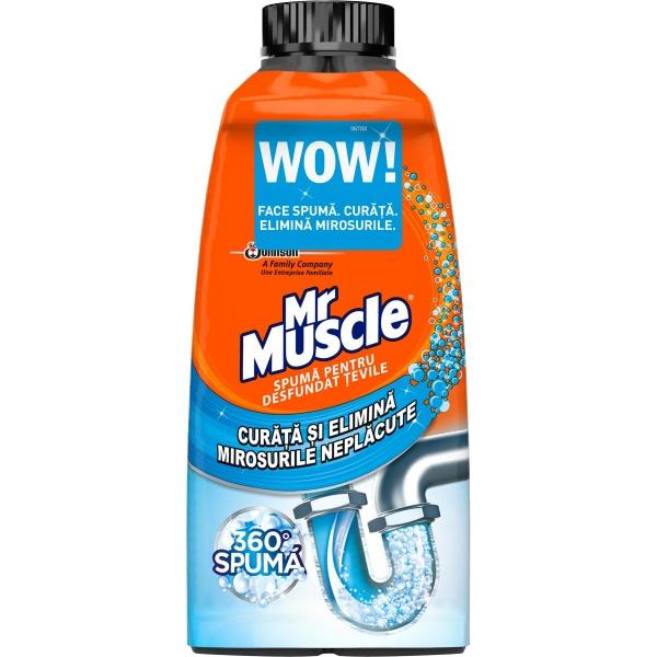 Mr Muscle Spuma desfundat tevi, 500 ml [0]