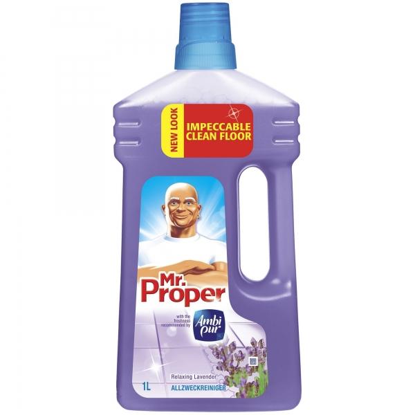 Mr. Proper Detergent pardoseli, 1 L, Lavanda [0]