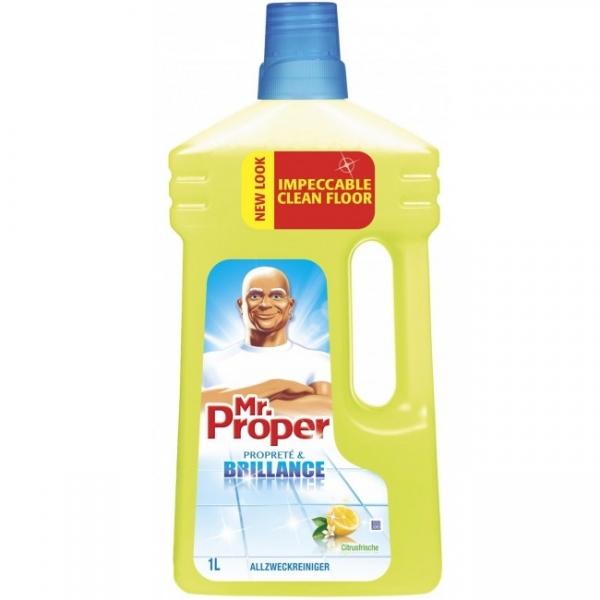 Mr. Proper Detergent pardoseli, 1 L, Lemon [0]