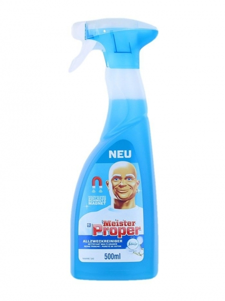 Mr. Proper Solutie curatat suprafete, cu pompa, 500 ml, Cotton Fresh [0]
