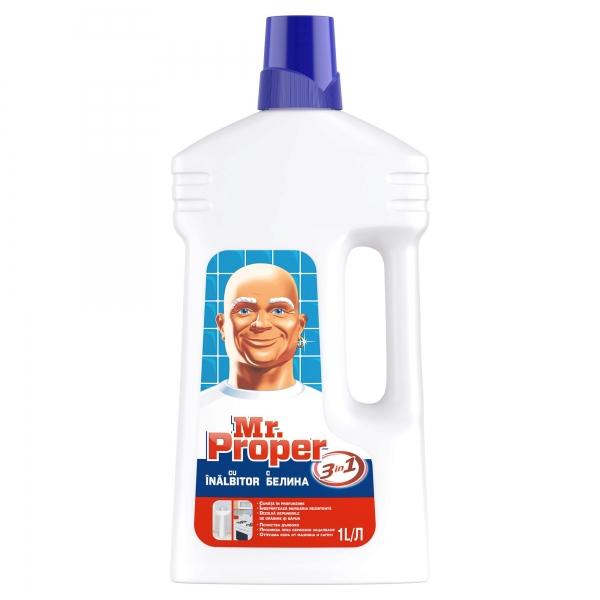 Mr. Proper Detergent universal, 1 L, 3in1 Gel cu inalbitor [0]