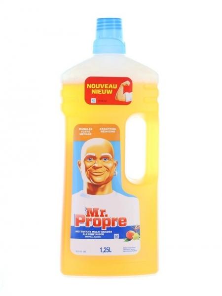 Mr. Proper Detergent pardoseli, 1.25 L, Fraicheur Tropicale [0]