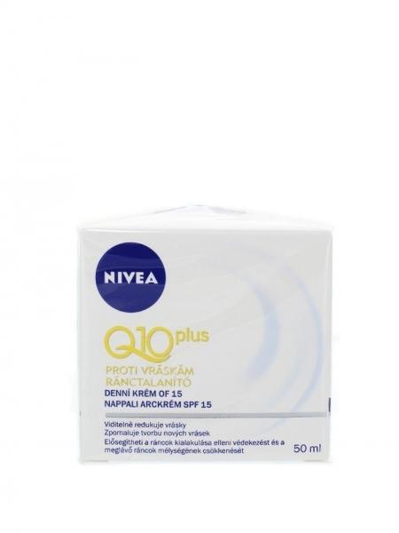Nivea Crema de zi, Antirid, 50 ml, Q10 Plus FPS 15 [0]