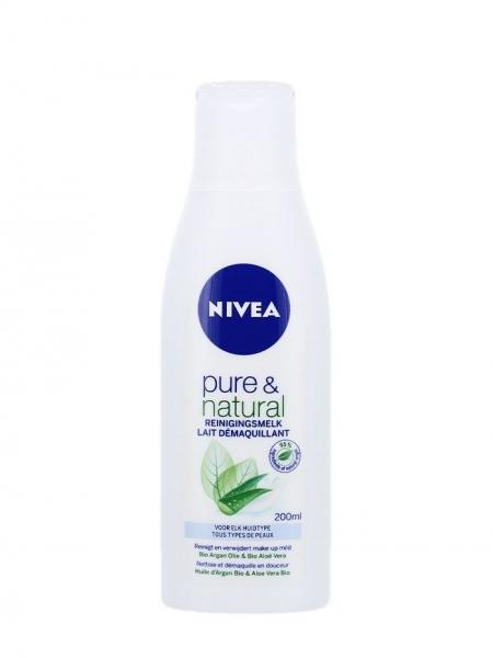 Nivea Lapte demachiant, 200 ml, Pure & Natural [0]
