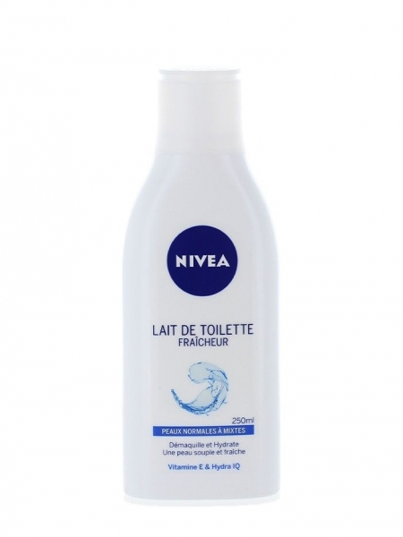 Nivea Lapte demachiant, 250 ml, Refreshing [0]