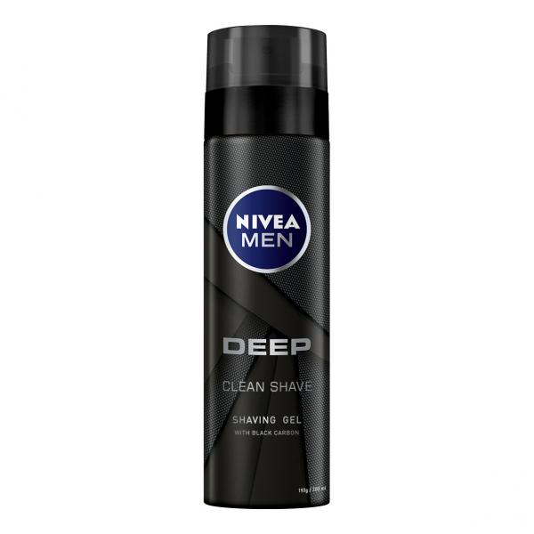 Nivea Gel de ras, 200 ml, Deep [0]