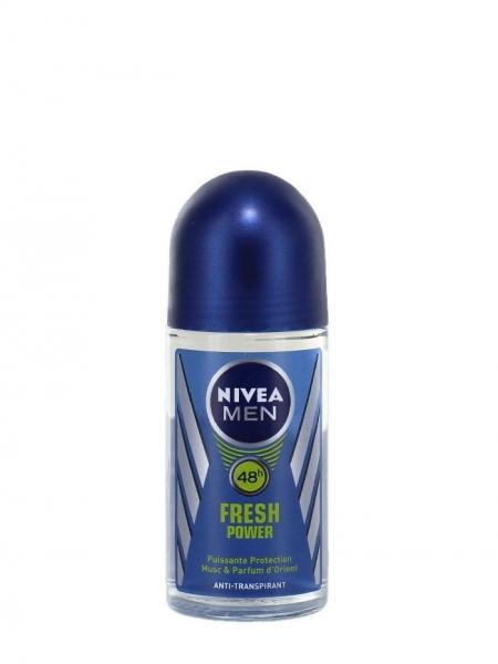 Nivea Deodorant Roll-on, Barbati, 50 ml, Fresh Power [0]