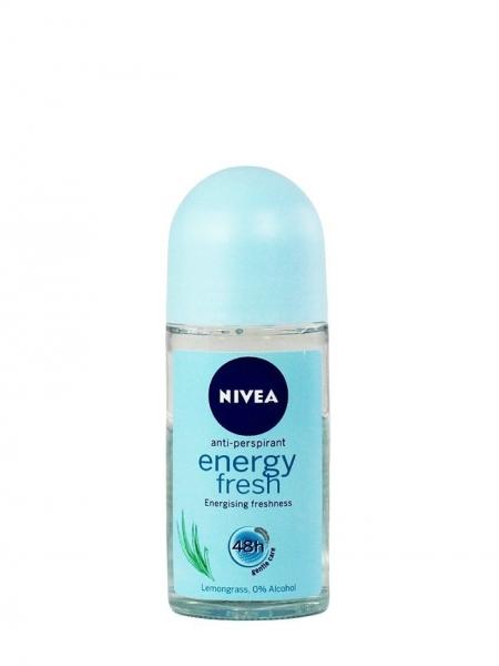 Nivea Deodorant Roll-on, Femei, 50 ml, Energy Fresh [0]