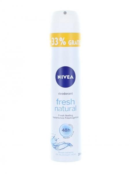 Nivea Deodorant spray, Femei, 200 ml, Fresh Natural [0]