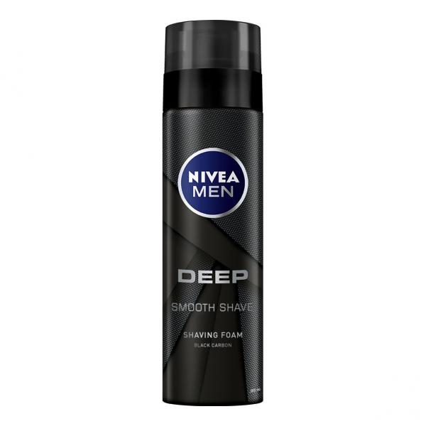 Nivea Spuma de ras, 200 ml, Deep [0]