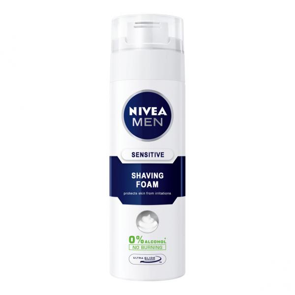 Nivea Spuma de ras, 200 ml, Sensitive [0]