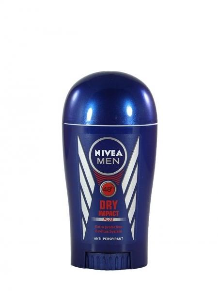 Nivea Deodorant stick, Barbati, 40 ml, Dry Impact [0]