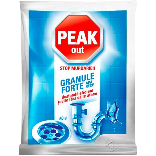 Peak Out Granule desfundat tevi, apa rece, 60 g [0]
