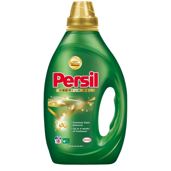 Persil Detergent lichid, 900 ml, 18 spalari, Premium Gel Universal [0]