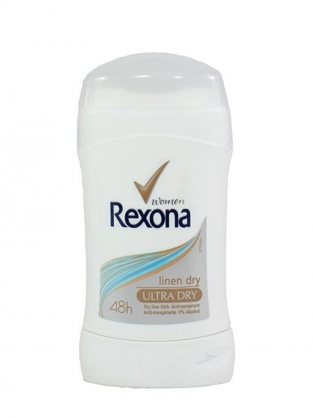 Rexona Deodorant stick, Femei, 40 ml, Linen Dry [0]