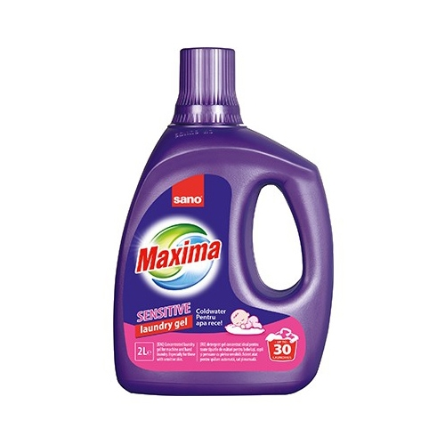 Sano Detergent lichid, 2 L, 30 spalari, Gel Sensitive [0]