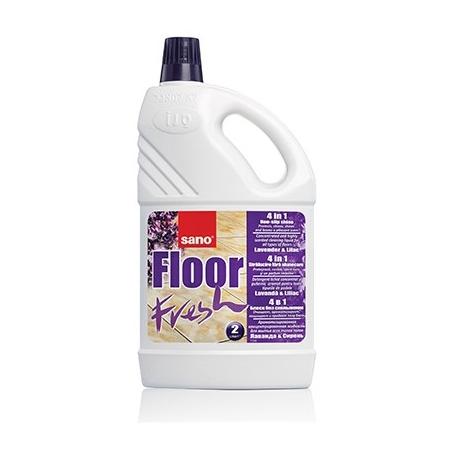 Sano Detergent pardoseli, 2 L, Floor Fresh Liliac [0]