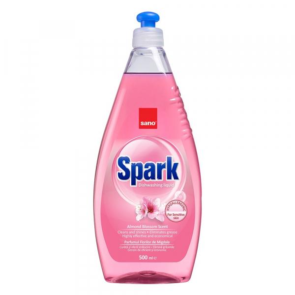 Sano Detergent pentru vase, 500 ml, Spark Migdale [0]