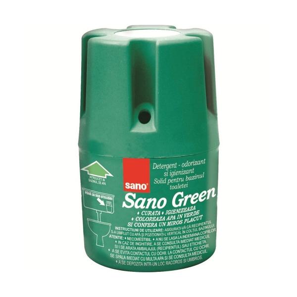 Sano Odorizant bazin WC, 150 g, Green [0]