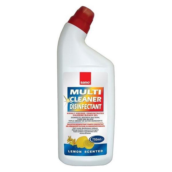 Sano Solutie multisuprafete cu clor, 750 ml, Multi Cleaner Dezinfectant [0]