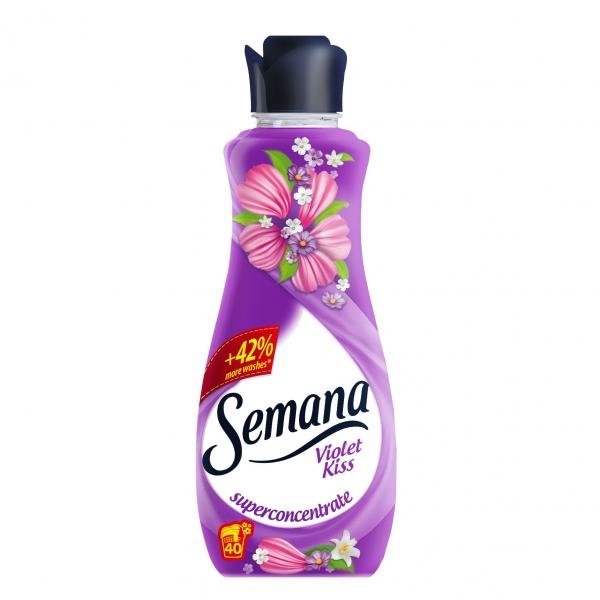 Semana Balsam de rufe, 1 L, 40 spalari, Violet Kiss [0]