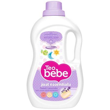 Teo Bebe Detergent lichid, 1.3 L, 20 spalari, Just Essentials Lavender [0]