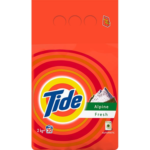 Tide Detergent automat, 2 kg, 20 spalari, Alpine Fresh [0]