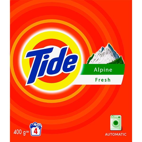 Tide Detergent automat, 400 g, 4 spalari, Alpine Fresh [0]
