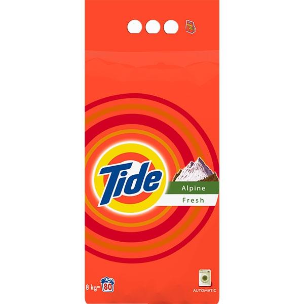 Tide Detergent automat, 8 kg, 80 spalari, Alpine Fresh [0]