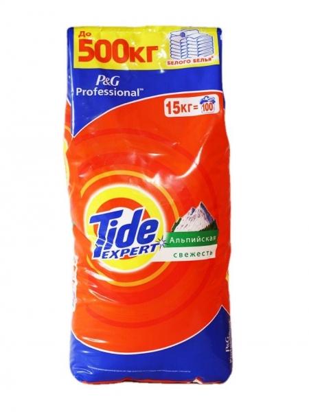 Tide Detergent automat, 15 kg, 100 spalari, Expert [0]