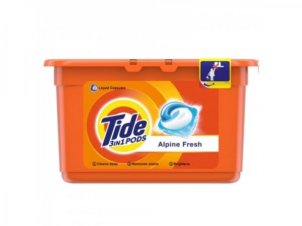 Tide Detergent capsule 3in1 PODS, 12 buc, Alpine Fresh [0]