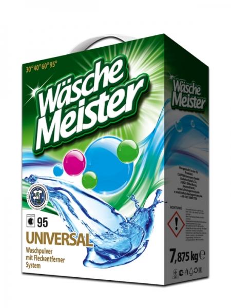 WascheMeister Detergent universal, 7.875 kg, 95 spalari, Universal [0]