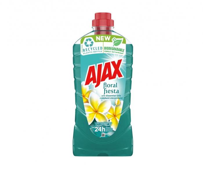 Ajax Detergent Pardoseli, 1L, Lagoon Flowers [0]