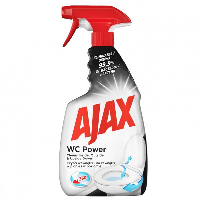 Ajax Dezinfectant WC, 500 ml, cu pompa, WC Power [0]