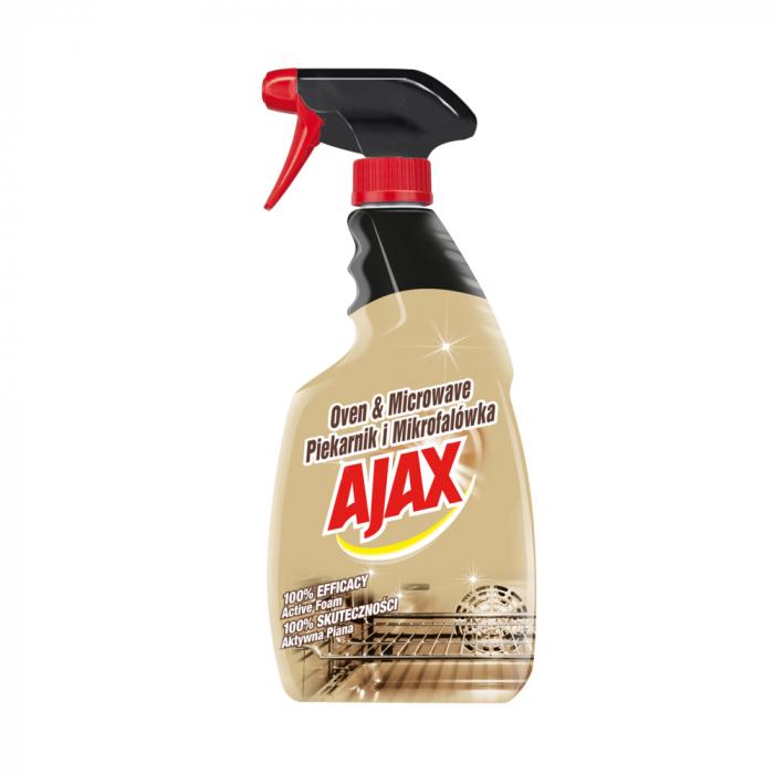 Ajax Solutie pentru cuptor si cuptorul cu microunde, cu pompa, 500 ml [0]