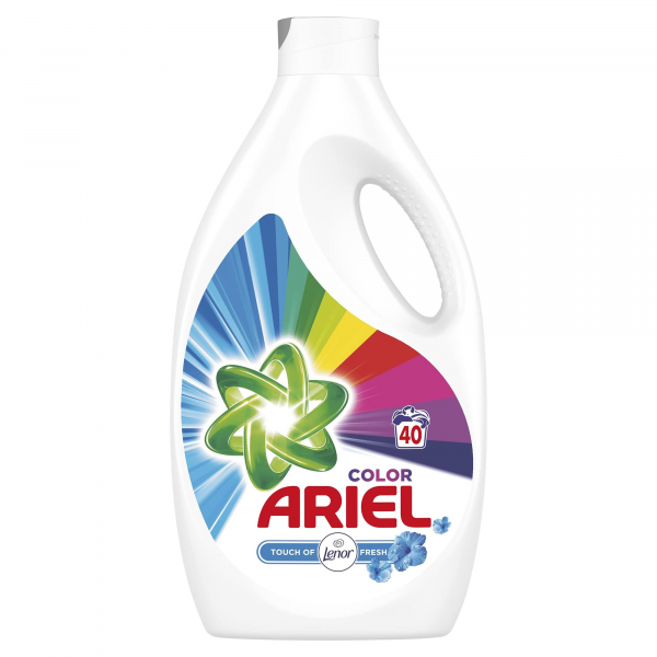 Ariel Detergent lichid, 2.2L, 40 spalari, Color Touch of Lenor Fresh [0]