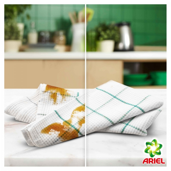 Ariel Detergent lichid, 2.2L, 40 spalari, Touch of Lenor Fresh [3]