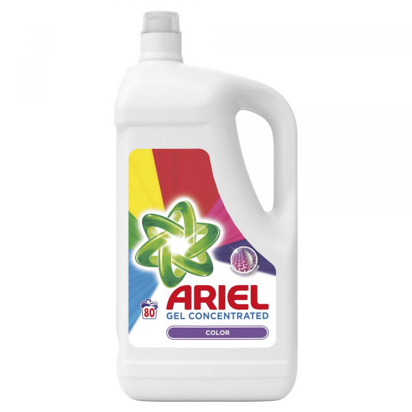 Ariel Detergent lichid, 4.4L, 80 spalari, Color [0]