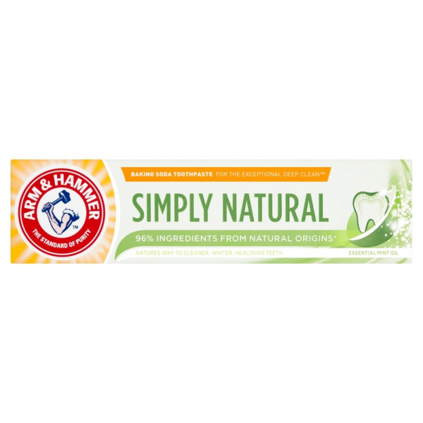 Arm and Hammer Pasta de dinti, Simply Natural, 75 ml [0]